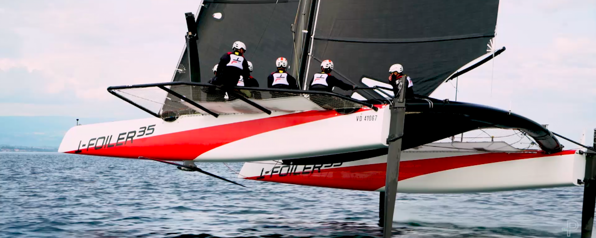 Pelle P announced as clothing partner; Alinghi's first sail